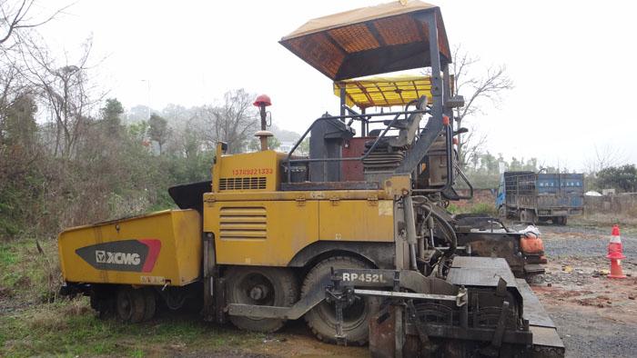 RP452L型徐工膠輪攤鋪機